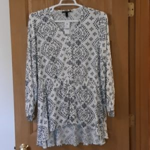 NWT Lane Bryant High-Low Shirt